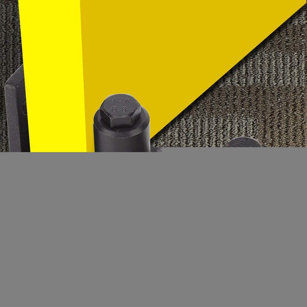 0,2 Pulg de Espesor 01 Cafopgrill Gu/ía de la Parte Inferior del Piso de la Puerta Corrediza para Puertas de Vidrio sin Marco de 5 mm
