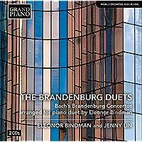 Bach: Brandenburg Concertos (Arranged for Piano Four-Hands by Eleonor Bindman)
