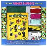 Let's Make Finger Puppets Book & Kit