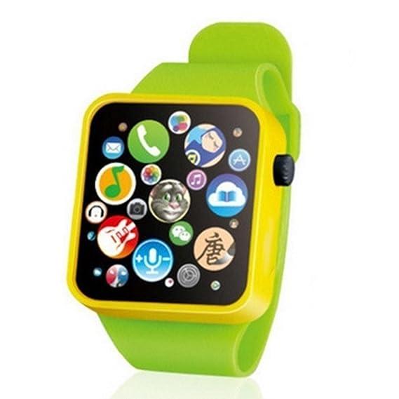 Cooshional Juguete de Reloj Musical para Bebés Niños Smartwatch de Música Ayuda a Dormir