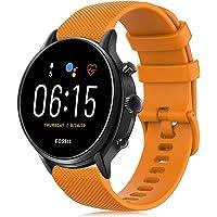 RIOROO pasek do zegarka kompatybilny z marką Fossil Men's Gen 5 Smartwatch / Men's Gen 4 Smartwatch, 22 mm, sportowy…