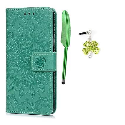 6a245b27a69 Funda para Samsung Galaxy A5 2016, Libro de Cuero Impresión de Suave PU  Premium e