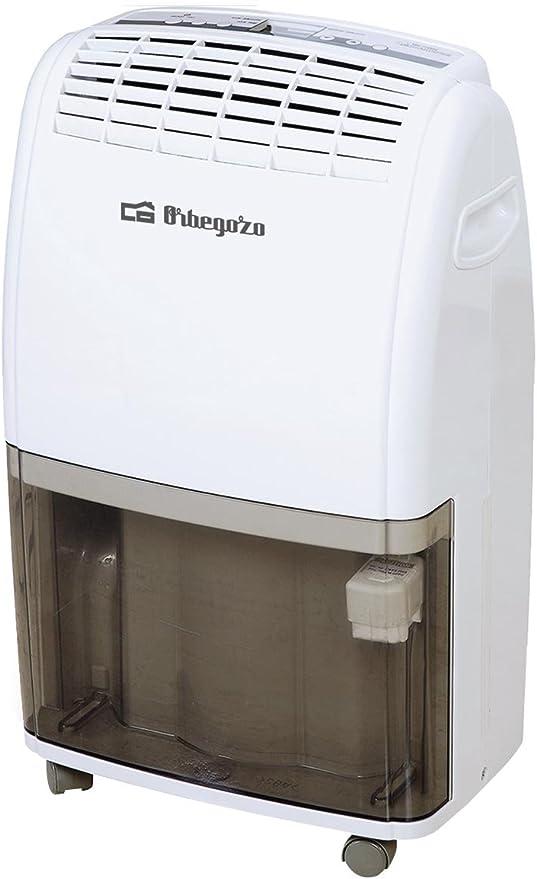 Orbegozo DH 3540 conexi/ón para desag/üe y dep/ósito de 6 litros Deshumidificador con 35 litros de capacidad diaria de deshumidificaci/ón