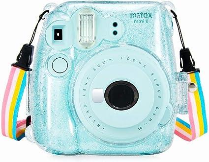 Anter Crystal Instax Mini 8 Pvc Tasche Für Fujifilm Kamera