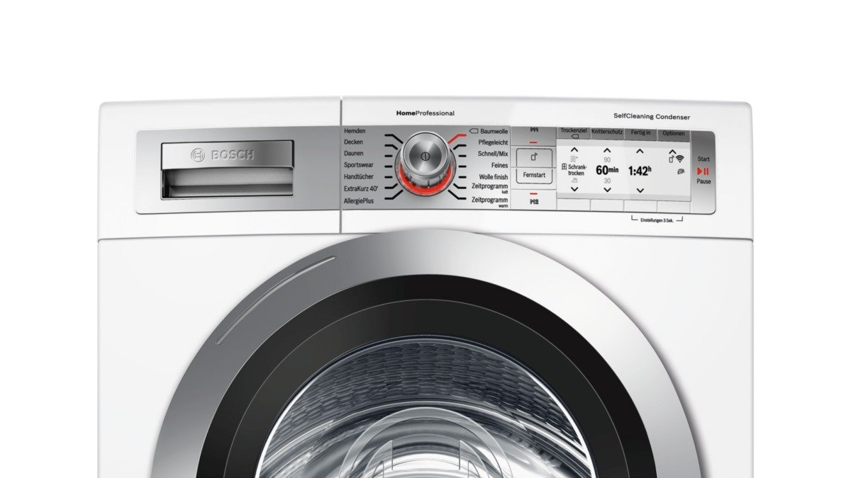 Bosch wtyh7700 wärmepumpentrockner home connect a 8 kg self