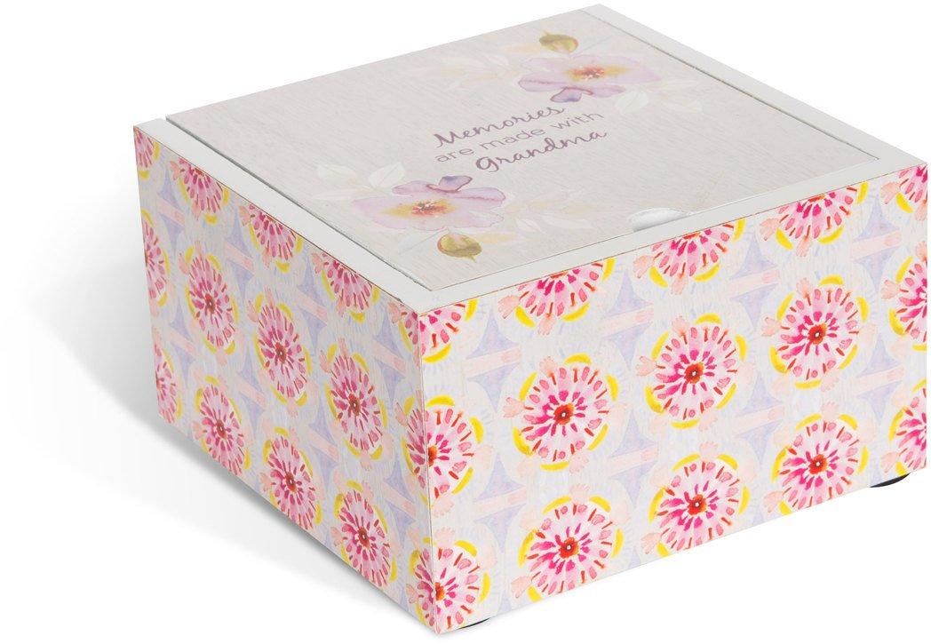 Flora by Stephanie Ryan Jewelry Box Memories with Grandma Sliding Top Pavilion Gift Company 87211