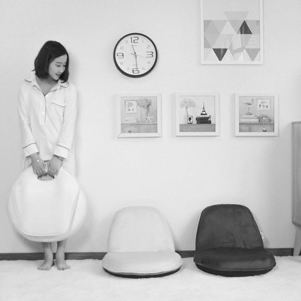 Brilliant firm Sillas Sillas Sillas Reclinables Lazy Chair Single Small Sofa Silla para niños Bedroom Mini Double Lounger Sofa Silla para Cama Tatami (Color : Amarillo(Cotton and Linen)) e385a7