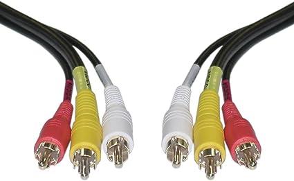 Cinch Kabel Audio Video Stecker Auf Stecker Amazon De Elektronik