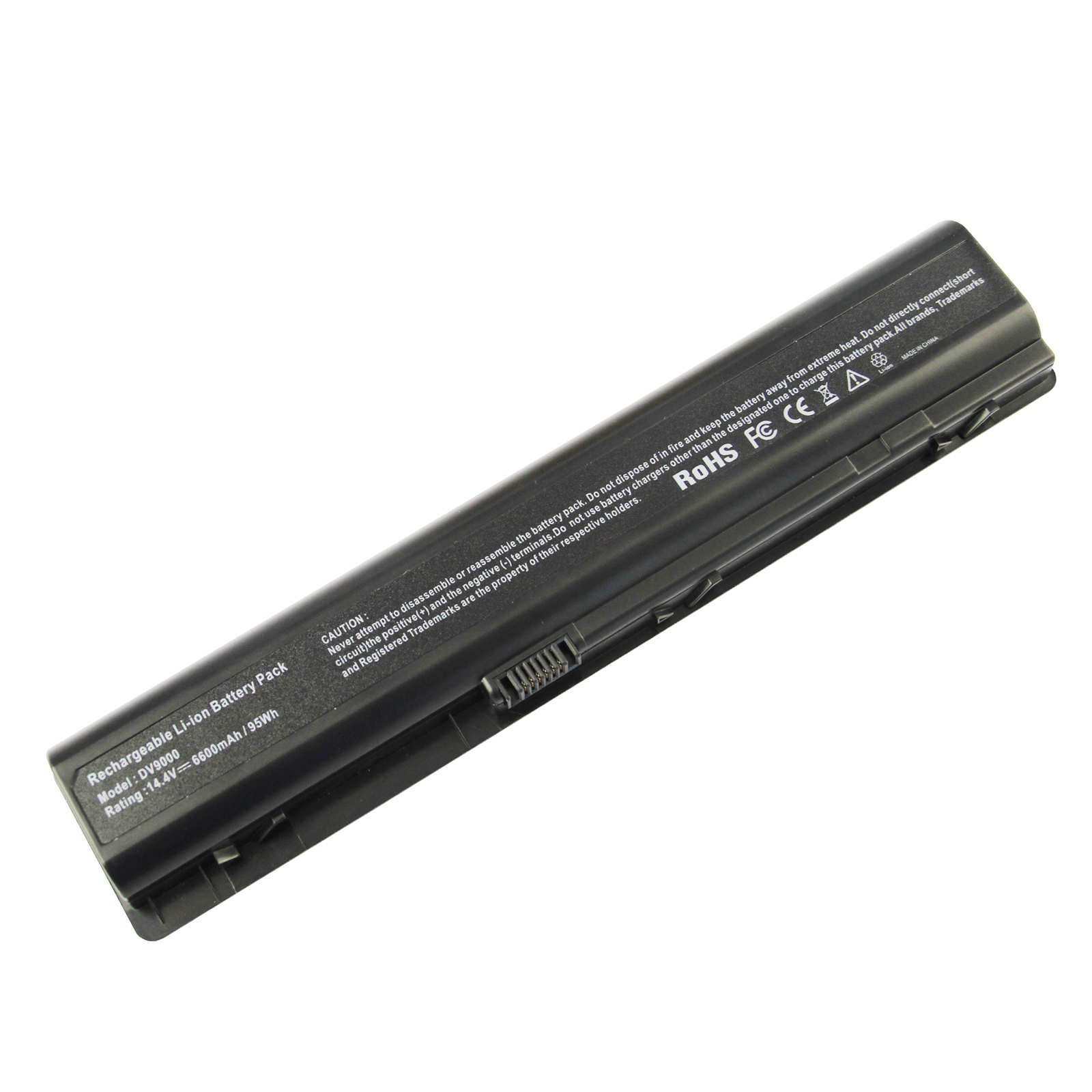 Bateria 12 Celdas para HP Pavilion DV9000 DV9500 DV9700 Series para P/N 448007-001 432974-001 434674-001 EX942AA EV087AA