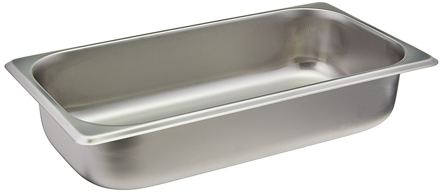 Winco SPT2 1//3 Size Pan 2-1//2-Inch