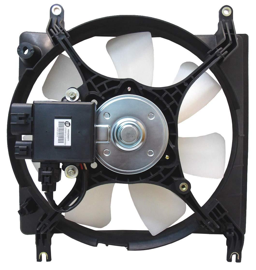 AC Condenser Fan Assembly For Chrysler Sebring Dodge Stratus MI3113114