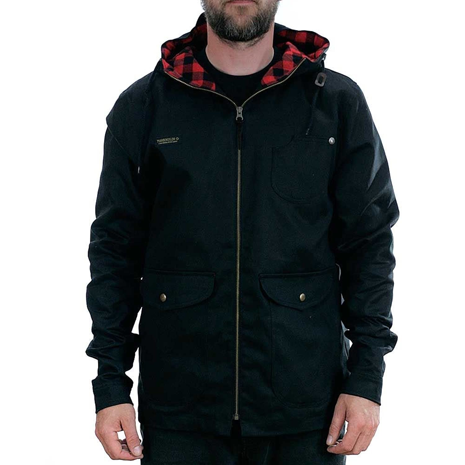 Turbo Kolor Sherman Jacket Canvas Black