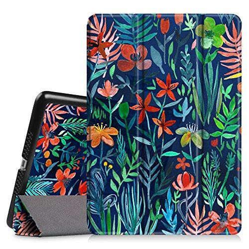 Fintie iPad Mini 3/2/1 Case - Lightweight Slimshell Smart Stand Cover with Premium PU Leather Back Protector for Apple iPad Mini 1/Mini 2/Mini 3 (Auto Wake/Sleep), Jungle Night