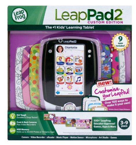LeapFrog LeapPad2 Kids' Learning Tablet (Custom Edition), Pink by LeapFrog (Image #3)