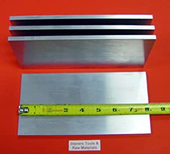 4 Pieces 3//8 X 1 ALUMINUM 6061 FLAT BAR 12 long Solid T6511 .375 Mill Stock