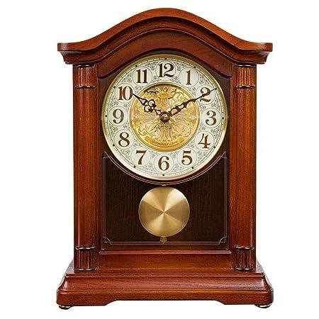 Relojes de mesa Reloj de Chimenea Vintage Decoración de Sala de ...