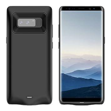 NOVPEAK Funda Bateria para Samsung Note 8, 5500mAh Cargador ...