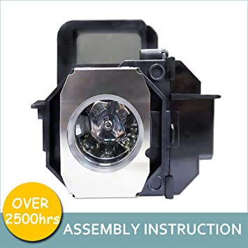 YOSUN V13h010l49 Replacement lamp Bulb for epson elplp49 powerLite Home Cinema 8350 8345 8500ub 8700ub 8100 6100 6500ub 7100 7500ub Projector lamp with housing