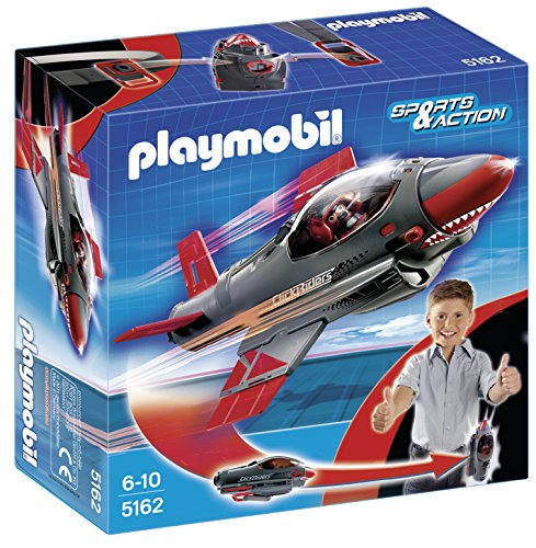 Playmobil Click & Go Shark Jet (Clicks Playmobil)