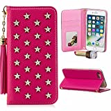Best Wallet Cases With Cosmetics Mirrors - Tikeda Leather Wallet Case for iPhone X Review