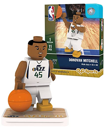 Buy Donovan Mitchell Utah Jazz OYO Sports Toys NBA G1 Gen 1 Minifigure  Figure Online at Low Prices in India - Amazon.in b8c6c6938