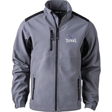 new concept 46d9f 38c79 Dunbrooke Apparel NFL Tennessee Titans Men's Softshell Jacket, Large,  Graphite
