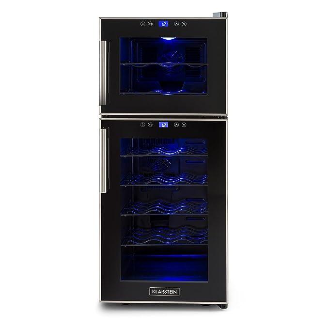 13 opinioni per Klarstein Reserva 21 Ccantinetta frigorifero per vino Con 5 Ripiani Estraibili