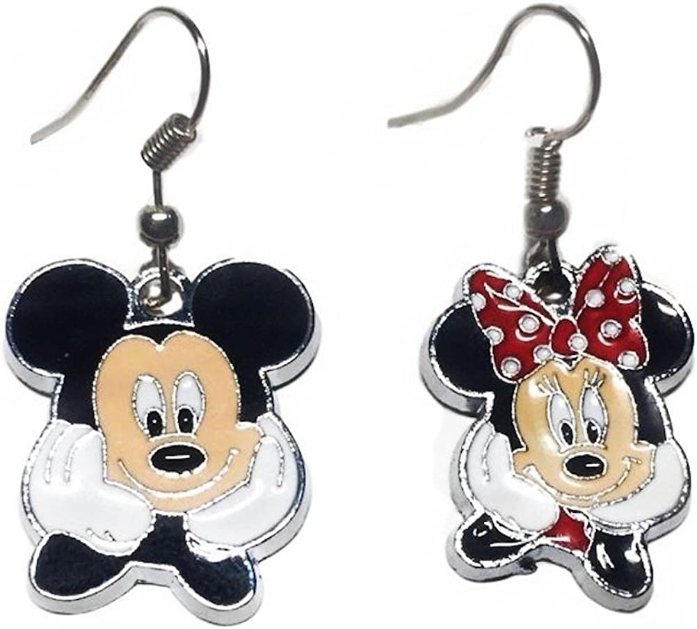 2 x Mickey Mouse Body Metal Enamel Charm Ideal for any crafts