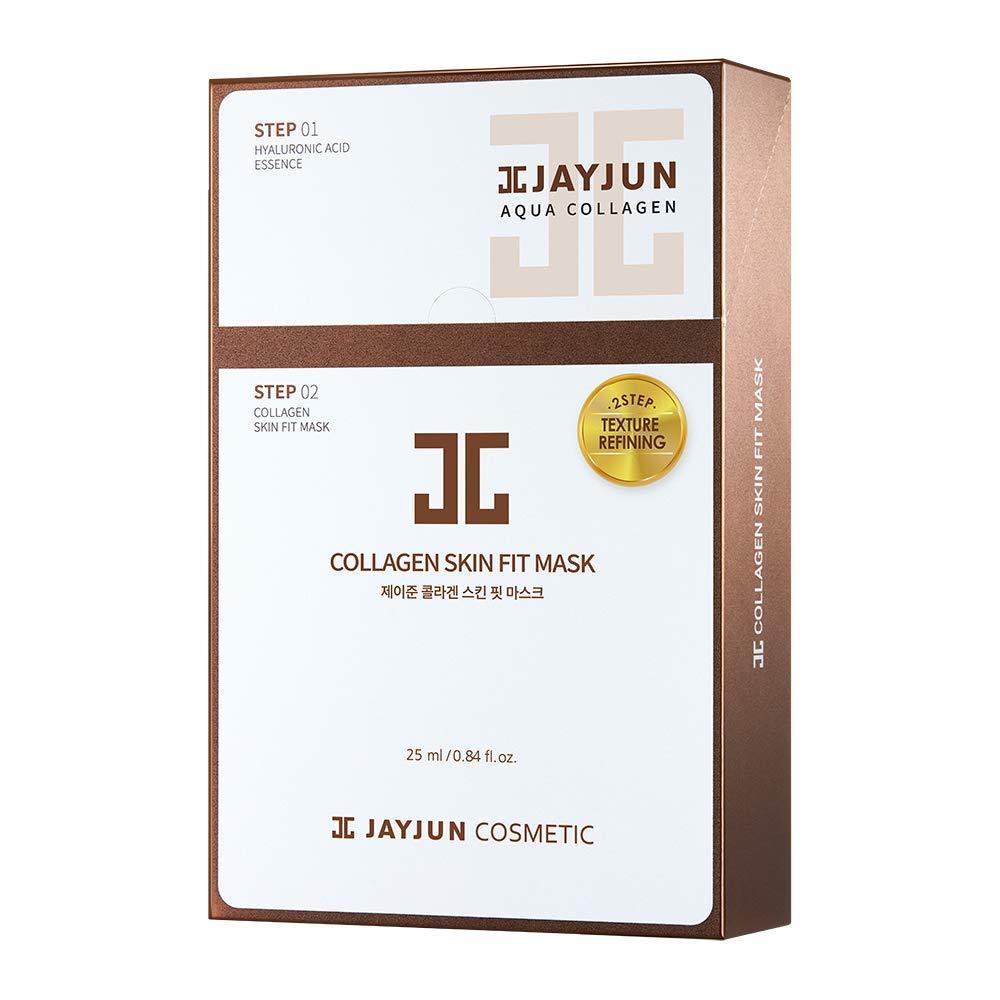 JAYJUN Collagen Skin Fit Mask 25ml / 0.84 fl.oz. Pack of 10