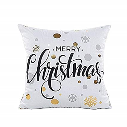 Amazon.com: GOVOW Throw Pillows for Couch Farmhouse Gold ...