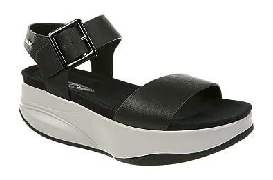 Mbt 700960-03N Sandales Femme Noir Noir - Chaussures Sandale Femme