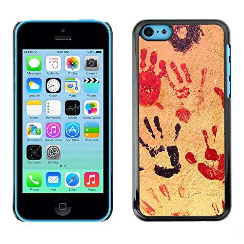 Premio Sottile Slim Cassa Custodia Case Cover Shell // V00002322 Mains // Apple iPhone 5C