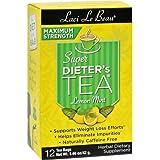 Laci Le Beau Maximum Strength Super Dieter's Tea Lemon Mint -- 12 Tea Bags