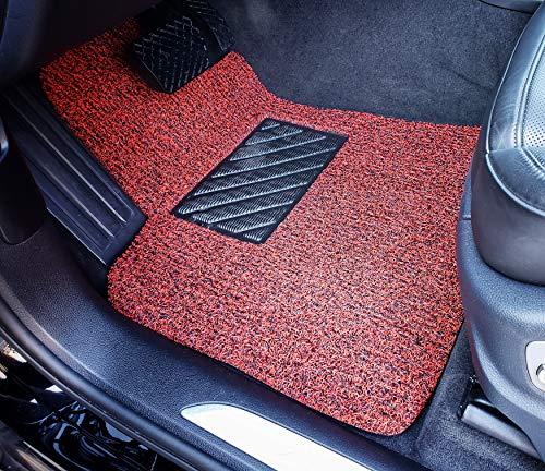 Beige and Brown Autotech Zone Custom Fit Heavy Duty Custom Fit Car Floor Mat for 2016-2018 BMW X1 SUV All Weather Protector 4 Piece Set
