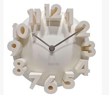Amazon 壁掛け 時計 3D ウォー...