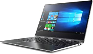 "Lenovo Yoga 910 2-in-1 14"" FHD IPS Touch-Screen Ultrabook, Intel Core i7-7500U, 8GB DDR4 RAM, 256GB SSD, HDMI, Bluetooth, 802.11ac, Fingerprint Reader, Backlit Keyboard, No DVD -Windows10"