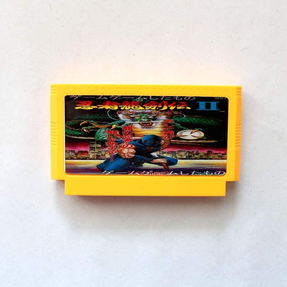 Amazon.com: BrotheWiz 60 pin 8 bit game Ninja Gaiden 2 60 ...