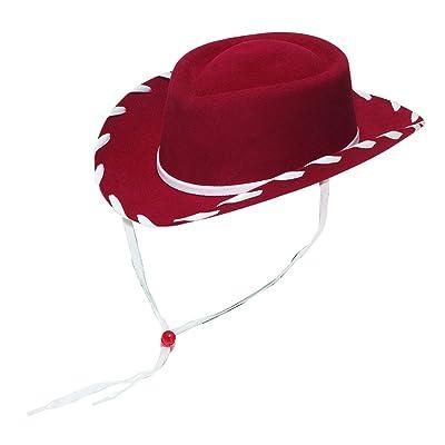 M & F Western Boys' Woody Cowboy Hat Red Large