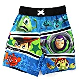 Disney Pixar Toy Story Monsters Inc Nemo Boys Swimwear (4T)