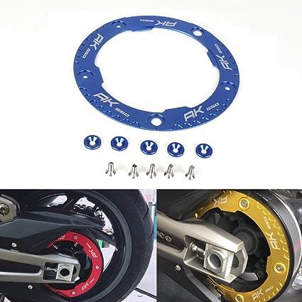 AK550 Transmisión Correa Protección Polea CNC Aluminio Moto Tapa ...