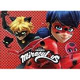 Jogo Quebra Cabeça Ladybug 60 Peças Brinquedos Estrela