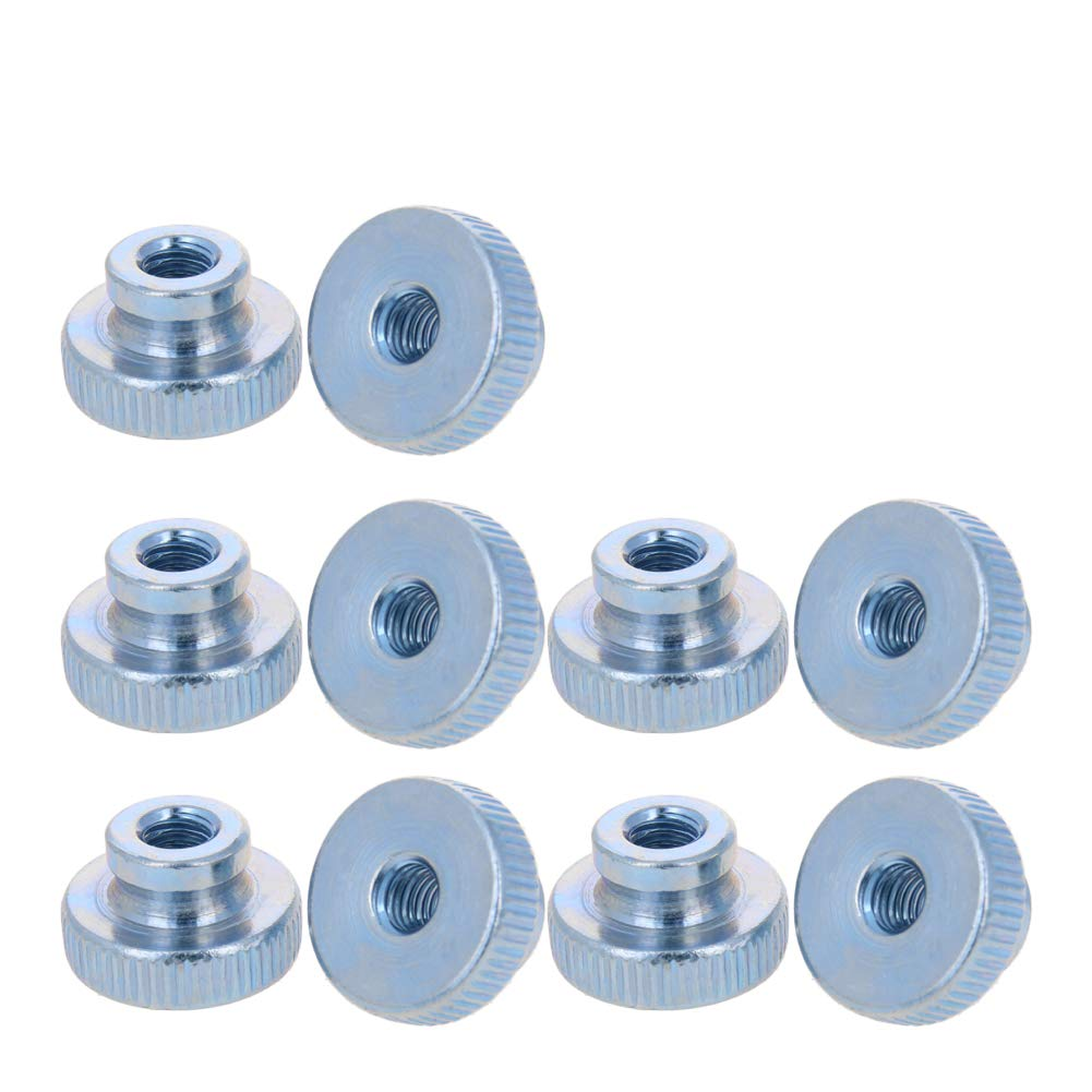 0.625 OD Pack of 5 Zinc Plated 1//4-20 Screw Size Brass 0.875 Length, Lyn-Tron Female