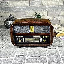 Xiao&fei Retro radio model Decoration , brown