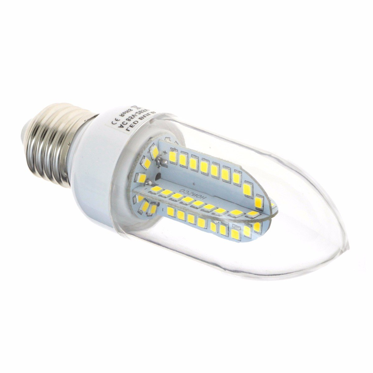 LIUXINDA-DP Cost-effective bulb 6 pack E27 LED corn lamp, voltage: 110V-265V (white) Light Bulbs