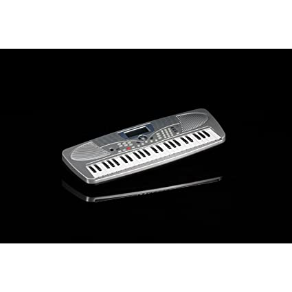 Teclado musical Medeli, modelo MC37A Bundle, con 49 teclas + fuente de alimentación +