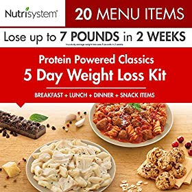 Nutrisystem 5 Day Weight Loss Kit, Turbo Protein Powered Classic