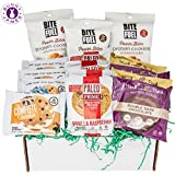 Healthy Protein Cookies Variety Pack: Mix of Lenny and Larry's cookies, Munk Pack, Paleo Prime & Bite Fuel High Protein Cookie Gift Box