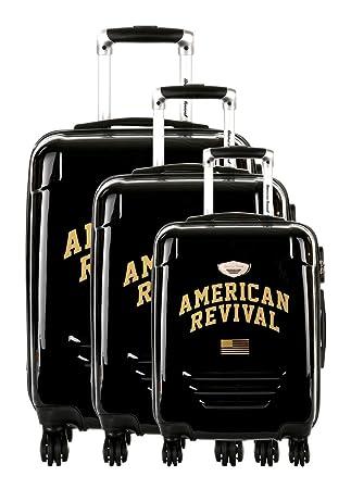 plus récent 013b3 d9ff6 American Revival - Set de 3 Valises Rigide ABS ...