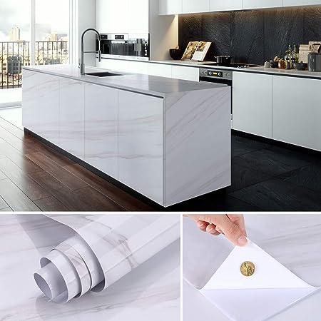 Papier Vinyle Adhesif 5 0 61m Kinlo Sticker Muraux Cuisine Anti