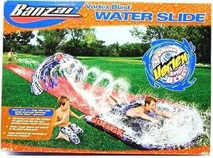 Giant 18' Long Banzai Vortex Blast Summer Fun Outdoor Inflatable Water Slide